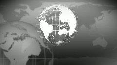 3d Globe Rotating - stock footage