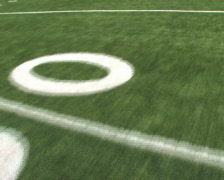 Running Football Field Stock Footage