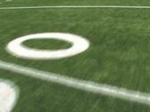 Running Football Field Stock Footage