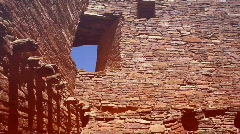 Chaco wall55 Stock Footage