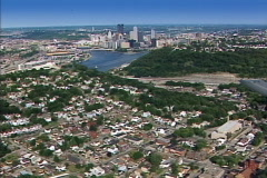 Aerial Pittsburgh 136 - stock footage