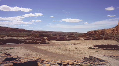 Chaco dead city generic shot Stock Footage