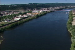 Aerial Pittsburgh 145 Stock Footage