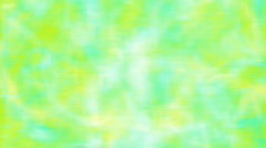 Yellow cyan blurred loopable motion background Stock Footage