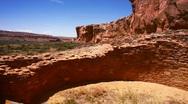 Chaco kiva ruins Stock Footage
