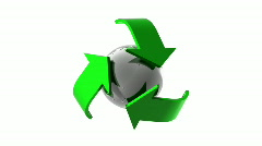 Recycle Stock Footage