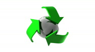 Stock Video Footage of Recycle