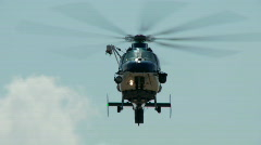 Helicopter - stock footage