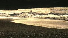 Golden Ocean Stock Footage