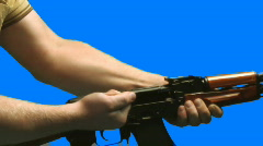 Guns 001 Stock Footage