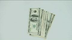 Money Toss Stock Footage