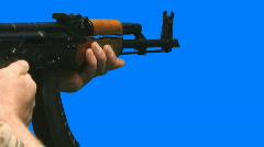 Guns 002 Stock Footage