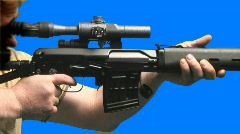 Guns 003 Stock Footage