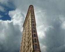 Flatiron Building  - stock footage