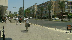 Rabin memorial pan 2 Stock Footage