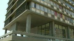 Rabin memorial tilt Stock Footage