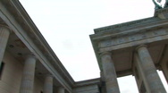 Brandenburg Gate in Berlin 1 Stock Footage
