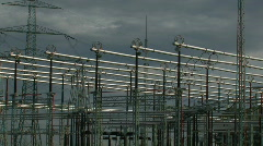 Electricity plant Stock Footage