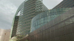 European Commission building in Brussels 4 Stock Footage