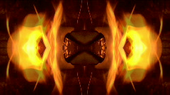 Abstract fire Background 01 Stock Footage
