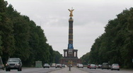 Stock Video Footage of Siegessaule - Victory Column - in Berlin