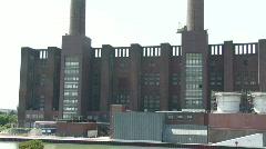 Volkswagen plant in Wolfsburg Germany 1 Stock Footage