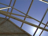 Residential construction1 Stock Footage