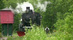 Steam train. Stock Footage