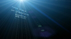 Automatic Code Writing Stock Footage