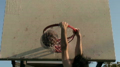 Basketball dunk series V2 - HD  Stock Footage