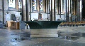 salisbury cathedral font SD Footage