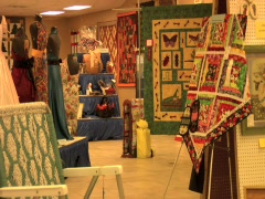 FAIR CRAFTS EXHIBIT ROOM  Stock Footage