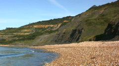Coastal Erosion  Stock Footage