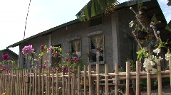 Poerto Princesa housing resettlement project 7 - stock footage