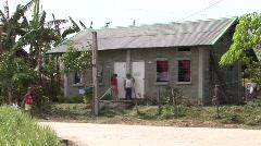 Poerto Princesa housing resettlement project 5 - stock footage