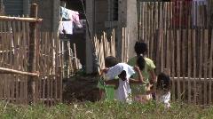 Poerto Princesa housing resettlement project 3 - stock footage