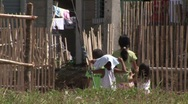Stock Video Footage of Poerto Princesa housing resettlement project 3
