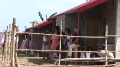 Poerto Princesa housing resettlement project 2 - stock footage