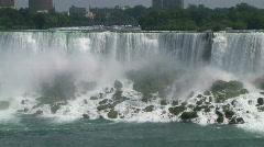 American Niagara Falls - stock footage