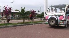 Poerto Princesa greenpeace transport 1 - stock footage