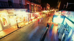 Over Bourbon2 - stock footage