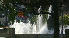 Fountain Stock Footage