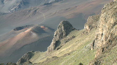 Haleakala National Park Crater Volcano Time Lapse 2 of 4 Stock Footage