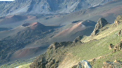 Haleakala National Park Crater Volcano Time Lapse 1 of 4 Stock Footage