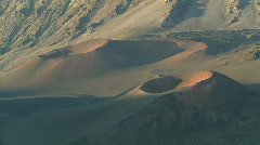Haleakala National Park Crater Volcano Time Lapse 4 of 4 - stock footage