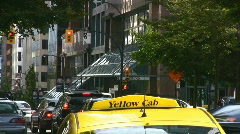Taxi Cab Stock Footage