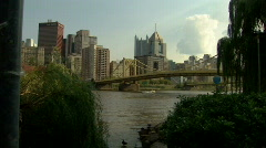 Pittsburgh Skyline 184 - stock footage