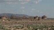Stock Video Footage of Masai village termites