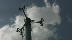 Cellphone tower. Light timelapse. Stock Footage