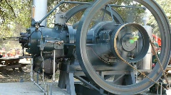Old machinery Stock Footage